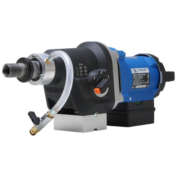 Diaquip QDM-350 Drill Motor - 110 Volt, 3 Speed